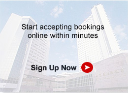 Register for our free booking system